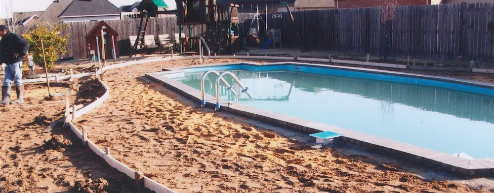 Installation of a new in-ground Catalina Pool