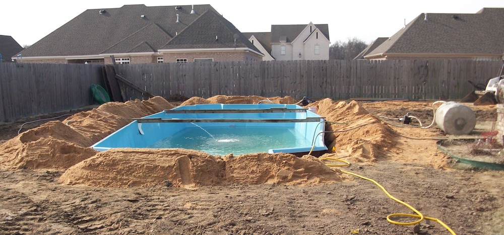 Installation of a new Catalina Pool