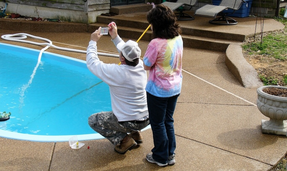 Picture of Pool installation